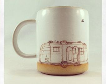 Airstream Doodle- mug