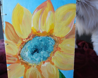 """Spring  - 6""""x9"""" Hand Bound Journal"""