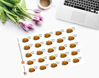 SUNDAY ROAST Planner Stickers CAM00152