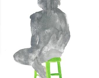 Silhouette 2 Watercolor