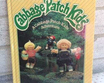 A Cabbage Patch Kids Adventure, Cabbage Patch Kids book,  CPK Photo storybook