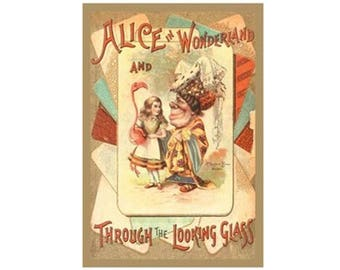 Canvas Art Print - Alice In Wonderland – Through The Looking-Glass