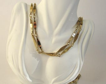 Gold-Tone Link Necklace