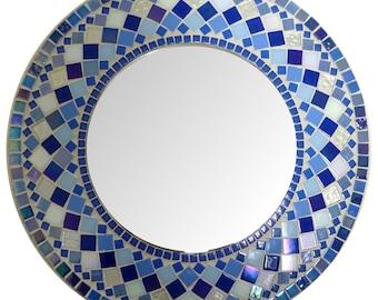 """Mosaic Mirror Round 17 1/2"""""""
