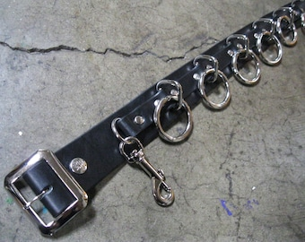 Ape Leather 9 Ring Bondage Belt