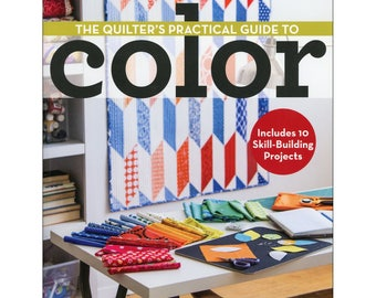 Color Selection Book, Quilt Color, Fabric Choice - Quilter's Practical Guide to Color - Becky Goldsmith - Softcover book, 110 pgs
