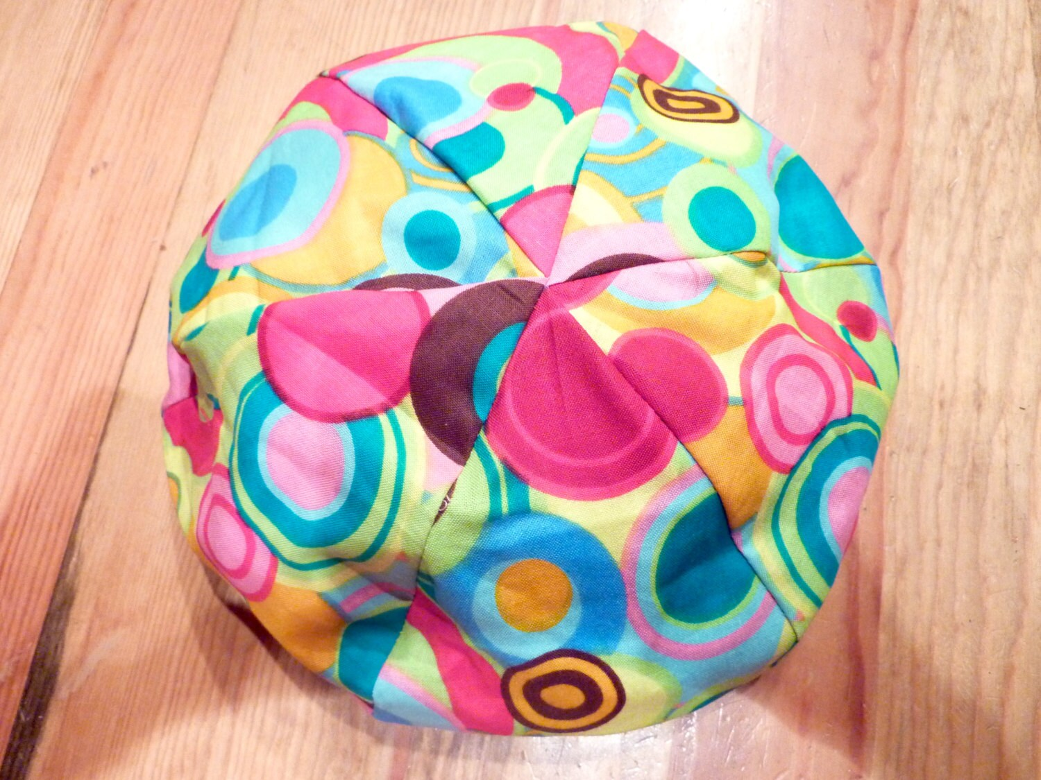 American Girl Doll Bean Bag Chair Groovy Pattern With Multi