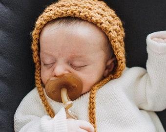 WANDERER pixie bonnet (honey)