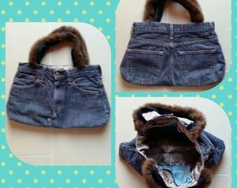 BAG DIY jeans denim small