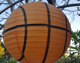 Sport paper lanterns baseball, Soccer, Basketball, Football themed party paper lantern