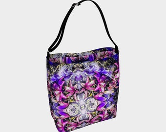 Floral Fantasy Day Tote