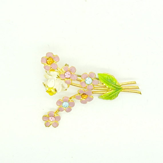 BROOCH with little flowers