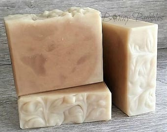 TEA TREE Soap  |  Essential Oil with Goat Milk  |  natural, handmade by Bonny Bubbles