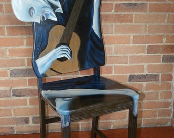 """Picasso """"The Old Guitarist"""""""