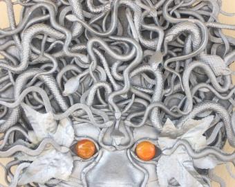 Medusa Mask Wreath