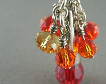 Autumn Splendor Crystal Necklace