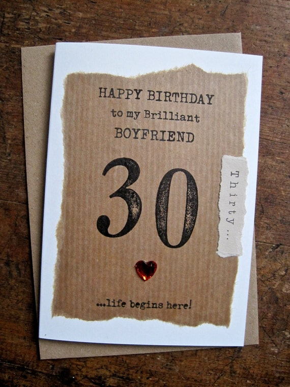 Fiance 30th 40th 50th 60th birthday card hand stamped fiance 30th 40th 50th 60th birthday card hand stamped numbers simple unusual masculine design personalised dad boyfriend 80 90 size a6 bookmarktalkfo Image collections