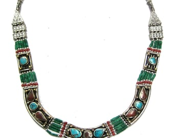 trade nights necklace beaded nepali bead elements products fair cultural city nepal