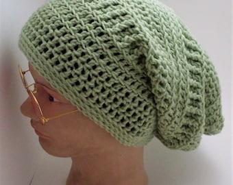 Textured Slouch Beanie Hat
