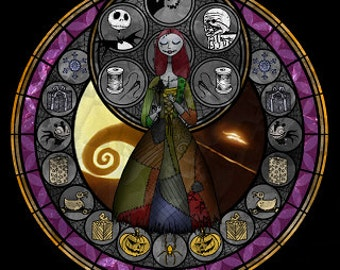 Cross Stitch Pattern for Sally Nightmare Before Christmas Kingdom Hearts