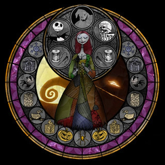 Free Comic Book Day Nightmare Before Christmas: Cross Stitch Pattern For Sally Nightmare Before Christmas