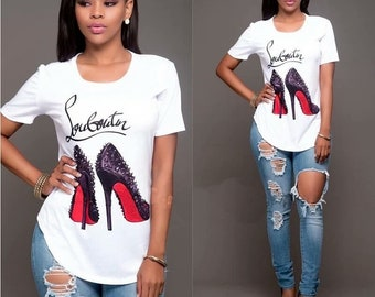 T-shirt Louboutin size S under blister, new