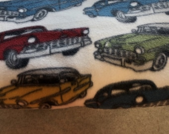 Throw Blanket Antique Old Fashion Cars