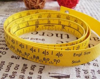 Shoe Size Measurement Tailor Tape - Hoechstmass Tape, Shoe Maker Tool, Soft Ruler Tape, Supplies