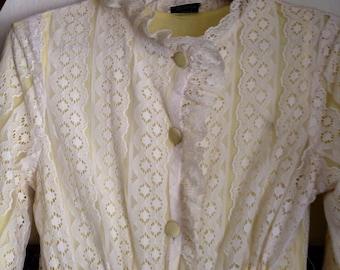 Vintage Lace Robe