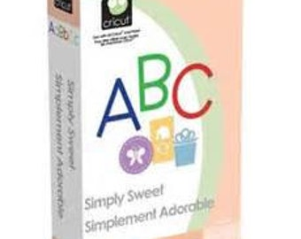 Simply Sweet Cricut Cartridge