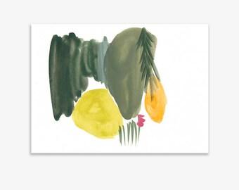 Monet's Garden 10, print on fine art paper