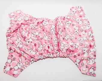 CLEARANCE Easter Bunny Cloth Diaper - One Size Cloth Diaper - OS Baby Diaper  - Cloth Cover - Pocket Diaper - AI2 Diaper