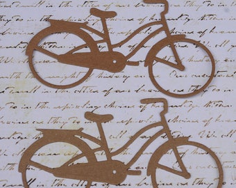 Bicycle Chipboard Die Cut Set