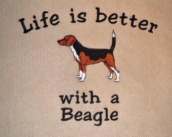 Beagle pillow