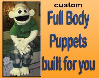 Custom Full Body Puppet