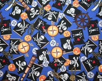"Avlyn ""Pirate's Life - Yo Ho Ho"" PIRATE FABRIC"