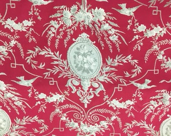 Red Medallion (Sold by the yard)
