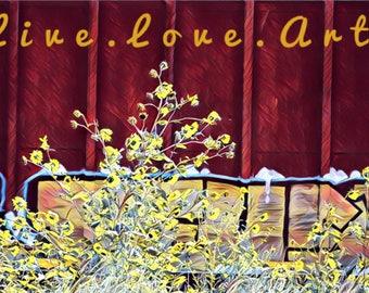 Live Love Art Train Series