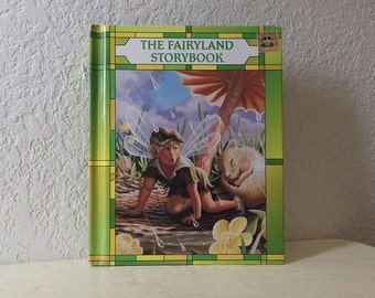 Children's Book: The Fairyland Storybook, Hardcover, Adorable Illustrations, 1990.