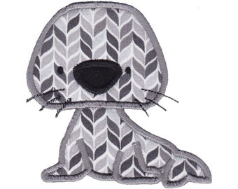 Arctic Animals Applique Design 5 Machine Embroidery Design 4x4 5x7 6x10