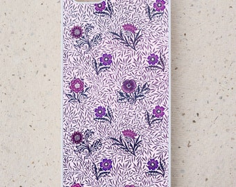 iPhone Cover(all models) - smartphone - Mobile - William Morris Illustration - Powdered - Samsung Galaxy S3 S4 S5 S6 S7 S8,  & other models