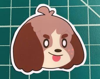 Animal Crossing Sticker | Digby
