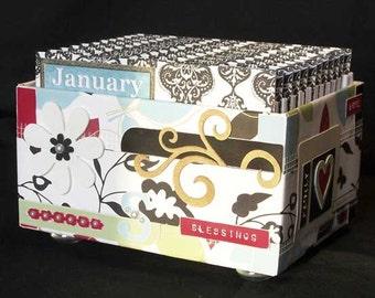 Blessings Box / Perpetual Calendar / Journal