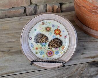 Small Hedgehog Plate
