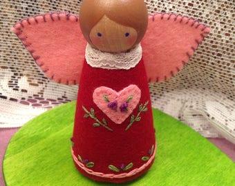 Cranberry Heartfelt Fairy