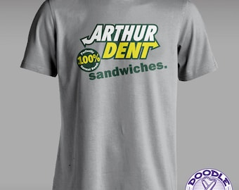 The Sandwich Maker - Hitchhiker's Guide to the Galaxy Parody T-shirt