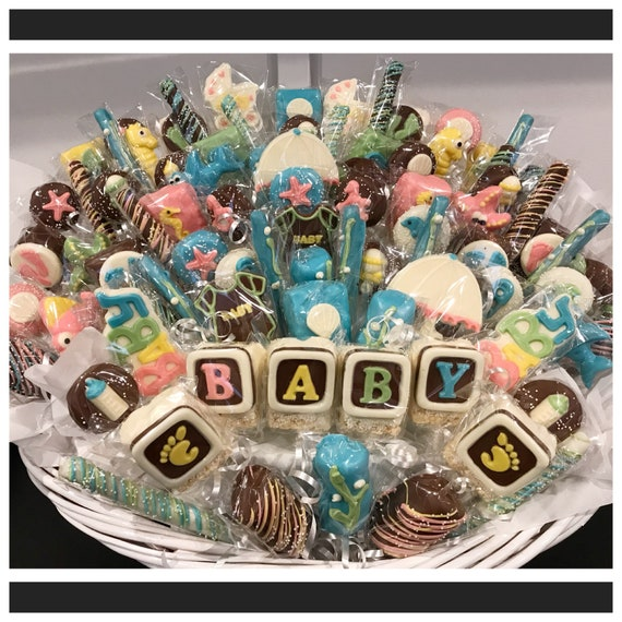 Under The Sea Themed Baby Shower Chocolate Basket Commack