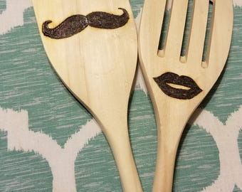 Mr. and Missus Spatula Set