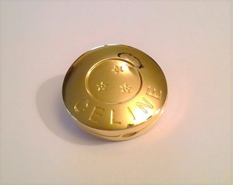 CELINE Brooch with fragrance diffuser - Very Rare - Authentic and Vintage