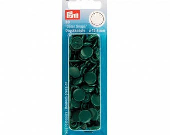 30 Prym round dark green Color snaps 393 131 snaps